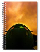 Globemaster In The Morning Spiral Notebook