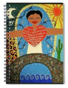 Gloria Anzaldua Spiral Notebook