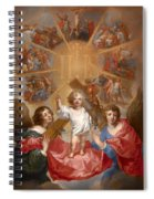 Glorification Of The Name Of Jesus Spiral Notebook