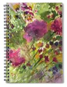 Glorious Flowers Spiral Notebook