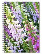 Glorious Foxgloves Spiral Notebook