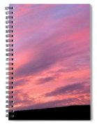 Glorious Nightfall  Spiral Notebook