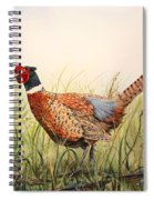 Glorious Pheasant-1 Spiral Notebook