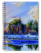 Glorious Point Of The Arches Spiral Notebook