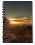 Glorious Sunrise Spiral Notebook