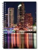 Glorious Tampa Bay Florida Spiral Notebook
