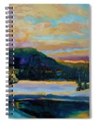 Glorious Winter Sunrise Spiral Notebook
