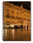 Glossy Outdoor Living Room - Syracuse Sicily Italy Spiral Notebook