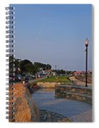Gloucester Waterfront Gloucester Harbor Spiral Notebook