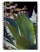 Glowing Agave Spiral Notebook