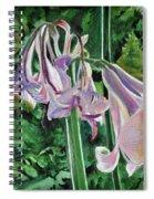 Glowing Amaryllis Spiral Notebook
