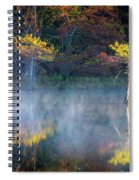 Glowing Cypresses Spiral Notebook