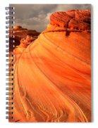 Glowing Desert Dragon Spiral Notebook