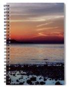 Glowing Evening Spiral Notebook