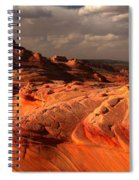 Glowing Flying Dragon Spiral Notebook