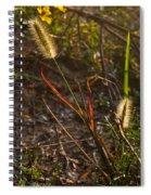 Glowing Foxtails Spiral Notebook
