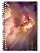 Glowing Glad Spiral Notebook