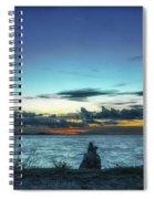 Glowing Horizon Spiral Notebook