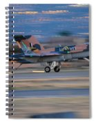 Glowing Hornet Spiral Notebook