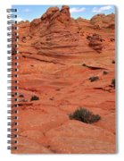 Glowing Sand In The Buttes Spiral Notebook