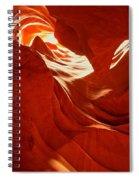 Glowing Sandstone Ledges Spiral Notebook
