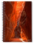 Glowing Walls Of Buckskin Gulch Spiral Notebook