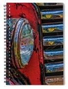 Gm Headlight Spiral Notebook