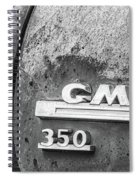 Gmc 350 Tag Bw Spiral Notebook