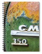 Gmc 350 Tag Spiral Notebook