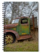 Gmc Green Spiral Notebook
