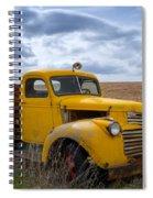 Gmc Yellow Spiral Notebook