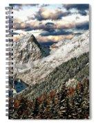 Gnadenwald In Autumn Spiral Notebook