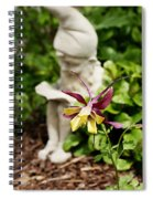Gnome And Columbine Spiral Notebook