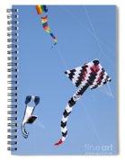 Go Fly A Kite Spiral Notebook