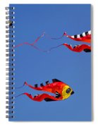 Go Fly A Kite Spiral Notebook