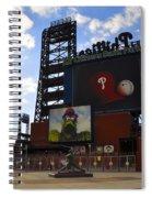 Go Phillies - Citizens Bank Park - Left Field Gate Spiral Notebook