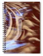 Go With The Flow - Abstract Art Spiral Notebook