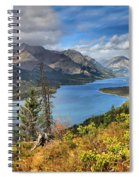 Goat Haunt Fall Foliage Spiral Notebook