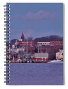 Goat Hill At Sunset In Winter Spiral Notebook