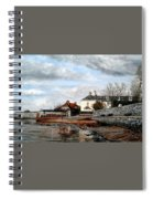 Goats Walk Topsham Devon Spiral Notebook