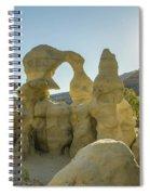 Goblins Sunburst Spiral Notebook