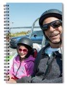 Gocar Tour By Bay Bridge In San Francisco, California Spiral Notebook