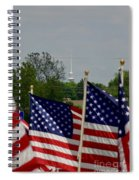 God And Country Spiral Notebook