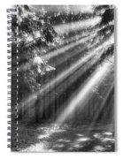 God Beams Spiral Notebook
