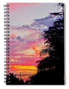 God Gracing La County Spiral Notebook