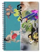 God Is A Feeling Spiral Notebook