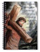 God So Loved The World Spiral Notebook