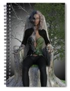 Goddess Hel Spiral Notebook