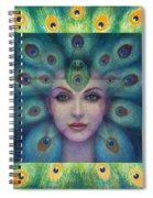Goddess Isis Visions Spiral Notebook