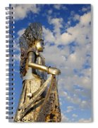 Goddess Isthmus Spiral Notebook